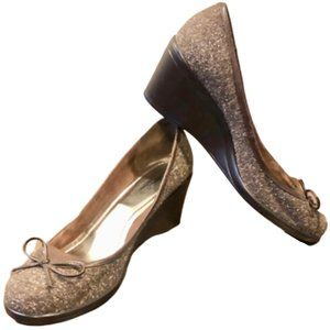 Style & Co Brown Jennie Slip On Wedge - 10M - NWOT
